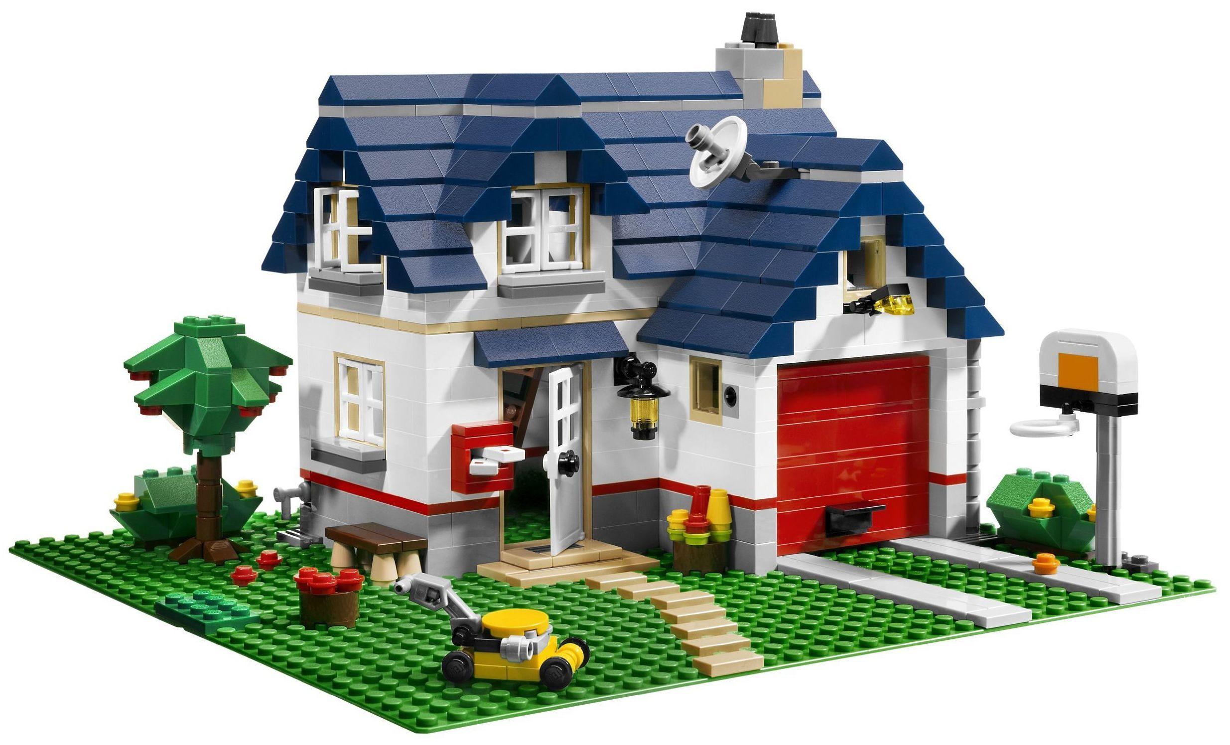 Lego house designs
