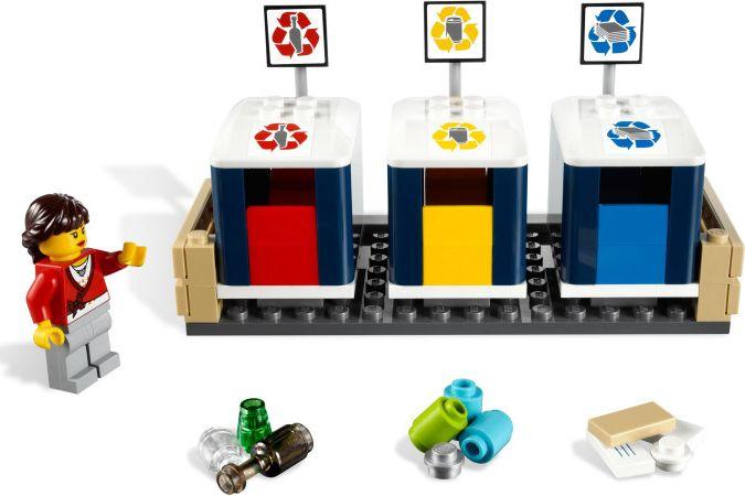 Lego 4206 Recycling Truck I Brick City