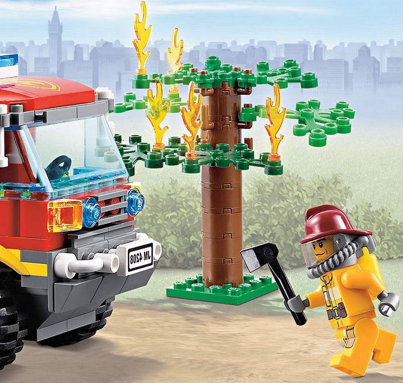 Lego City 4208 Fire Truck I Brick City