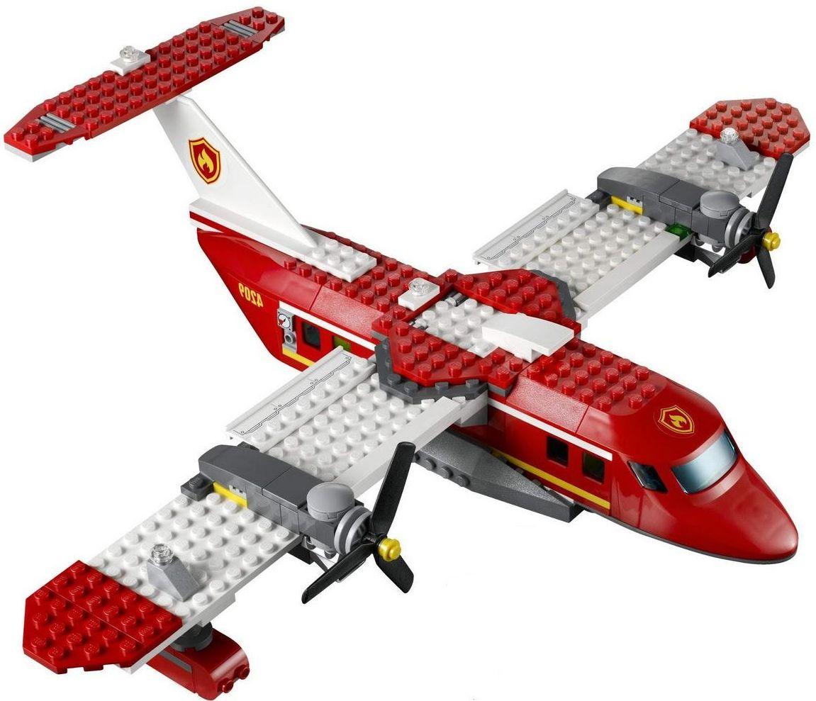 Lego City 4209 Fire Plane I Brick City