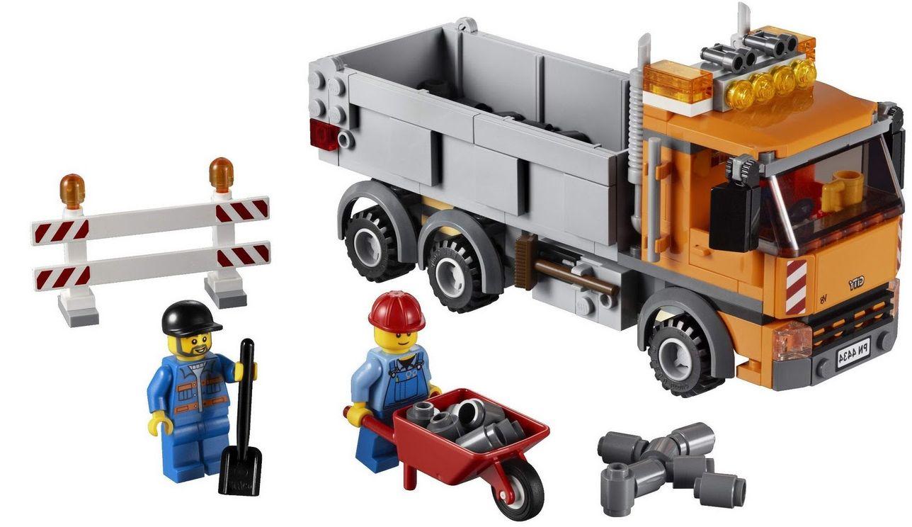 Lego City 4434 Dump Truck I Brick City