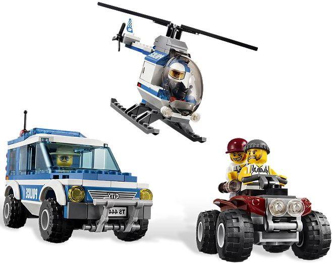 Lego 4440-1: Forest Police Station   i Brick City