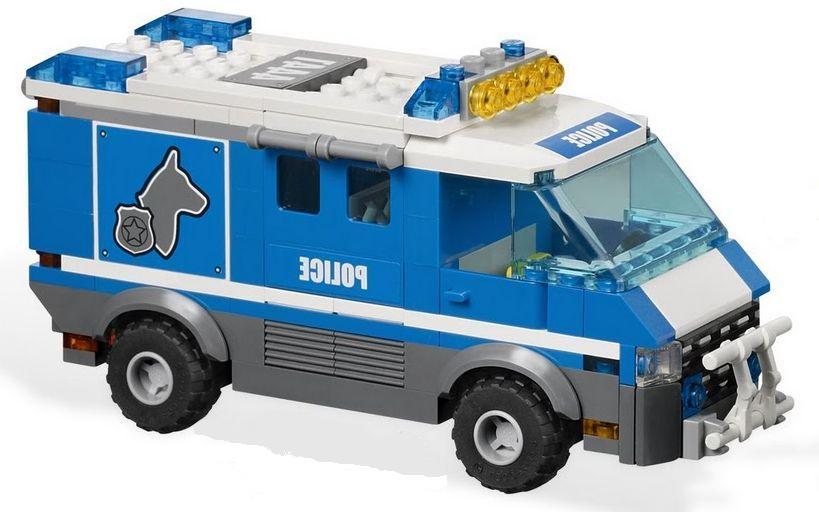 Lego Police Dog Van Videos