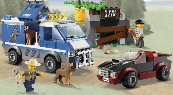 Lego 4441 dog van Lego City 4441 – Police Dog Van