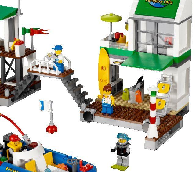 Lego 4644 Marina I Brick City