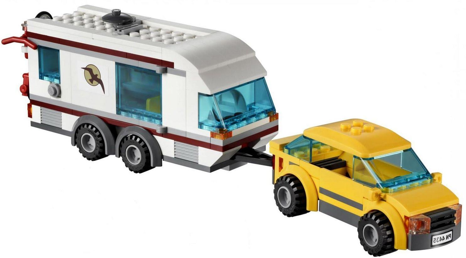 Lego4435 car and Camper  Lego City 4435 – Car and Camper