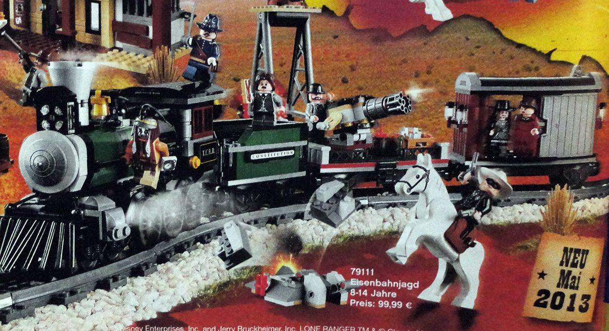 Lego Steam Train Set Lego Lone Ranger Steam Train